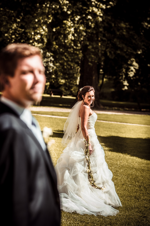portrait.mariage au chateau preisch