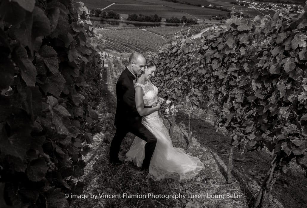 mariage dans les vignes à la moselle