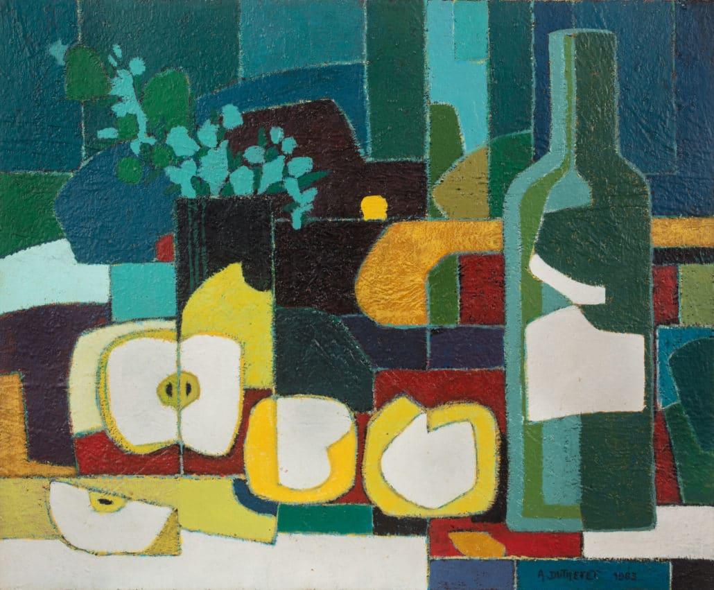 tableau en peinture de l'artiste Dutretet
