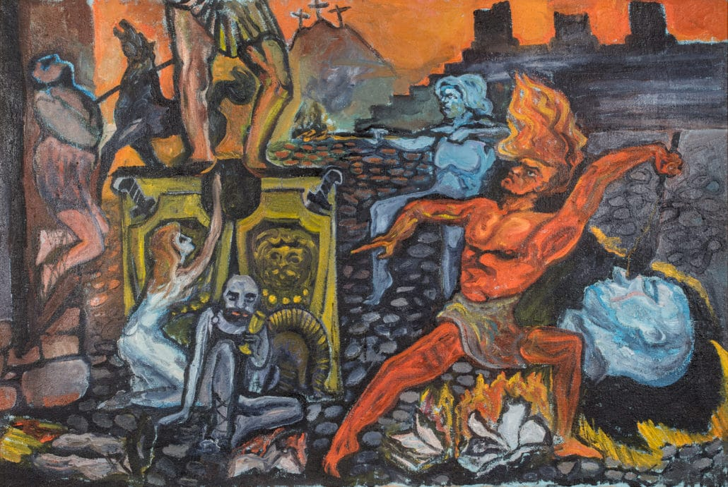 tableau par un peintre Russe.