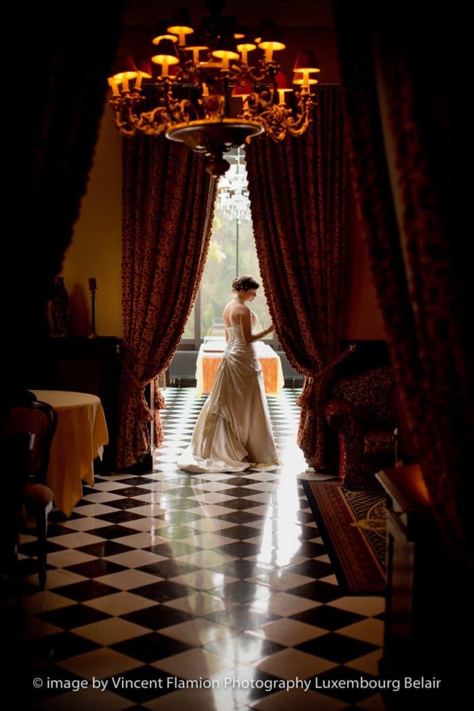 la mariée au chateau d'arlon