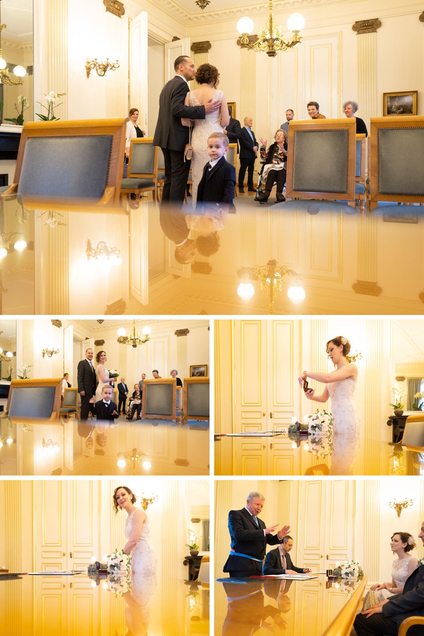 mariage à la mairie de luxembourg