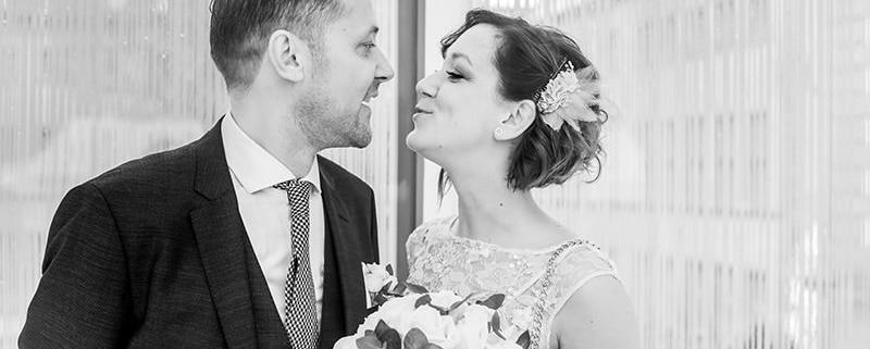 photo reportage de mariage en ville à la commune de luxembourg